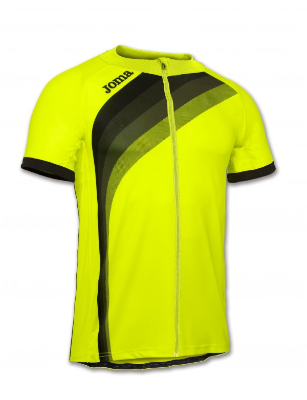 MAILLOT CYCLING YELLOW FLUOR S/S