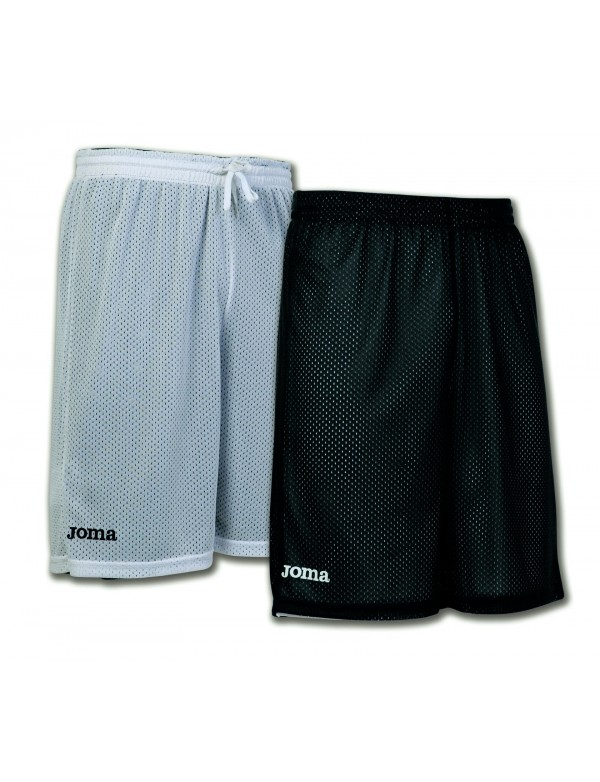 SHORT BASKET REVERSIBLE ROOKIE BLACK-WHITE