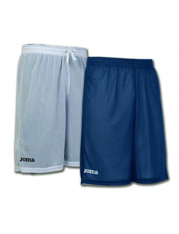 SHORT BASKET REVERSIBLE ROOKIE NAVY-WHITE