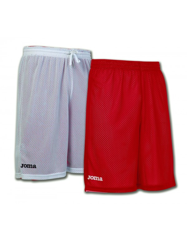 SHORT BASKET REVERSIBLE ROOKIE RED-WHITE