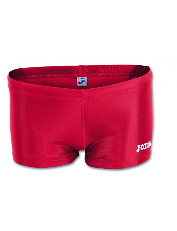 WOMENS LYCRA SHORTS RED