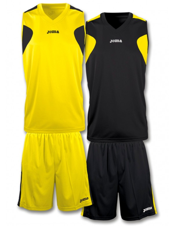 SET BASKET REVERSIBLE YELLOW-BLACK