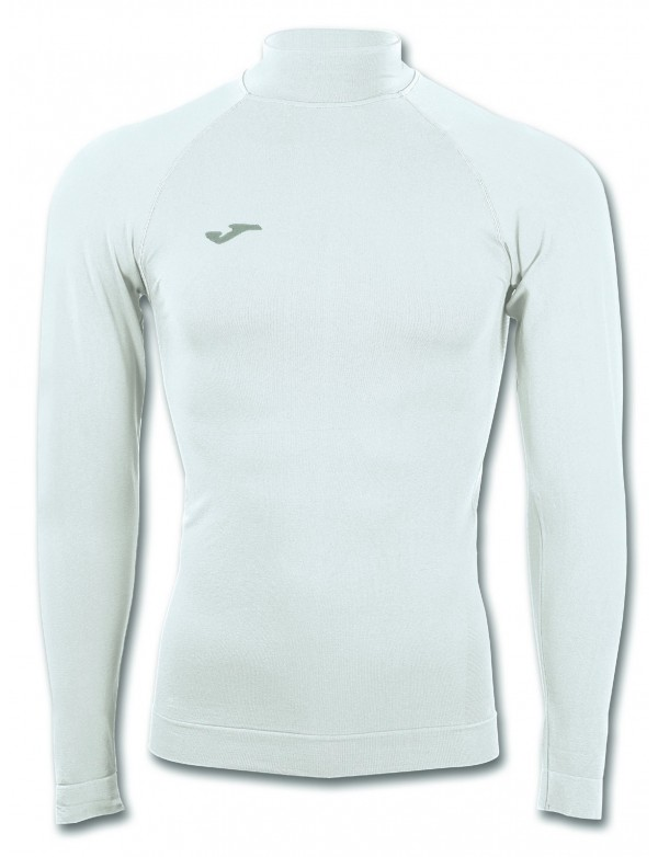 BRAMA CLASSIC L/S TURTLENECK SHIRT WHITE