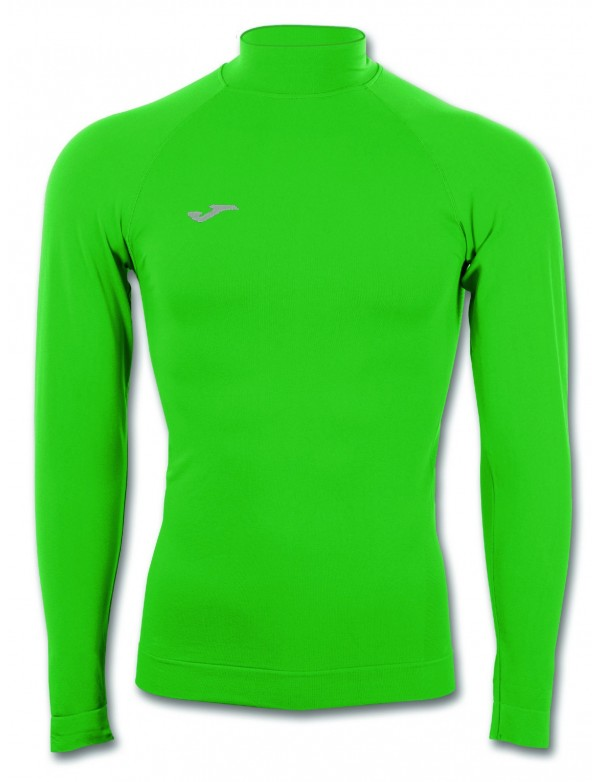 T-SHIRT BRAMA CLASSIC GREEN WITH NECK L/S