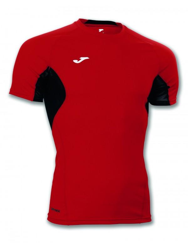 T-SHIRT SKIN RED-BLACK S/S