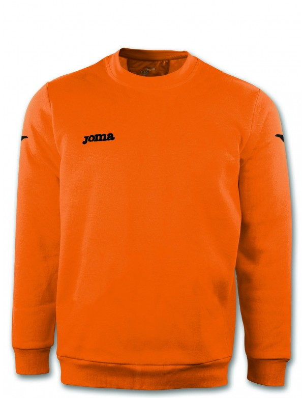SWEATSHIRT POLYFLEECE CAIRO ORANGE FLUOR