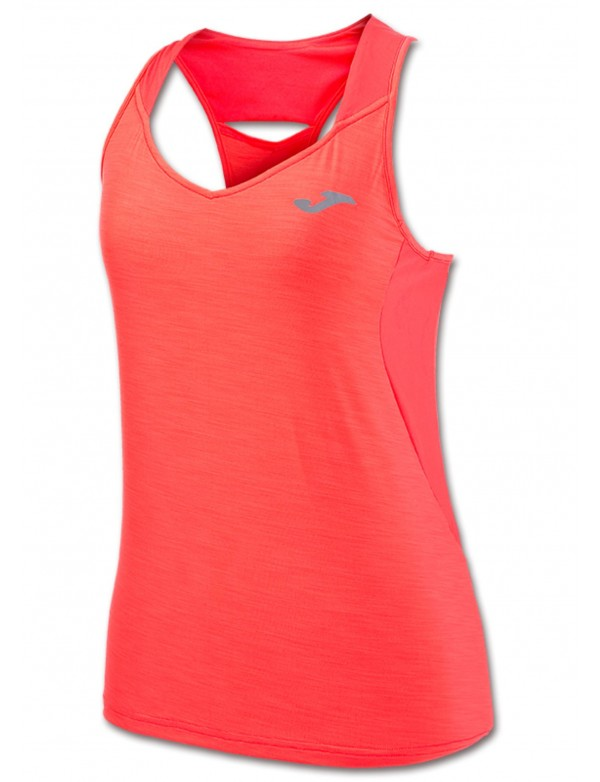 T-SHIRT TENNIS CORAL SLEEVELESS