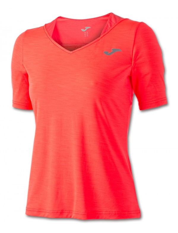 T-SHIRT TENNIS CORAL S/S