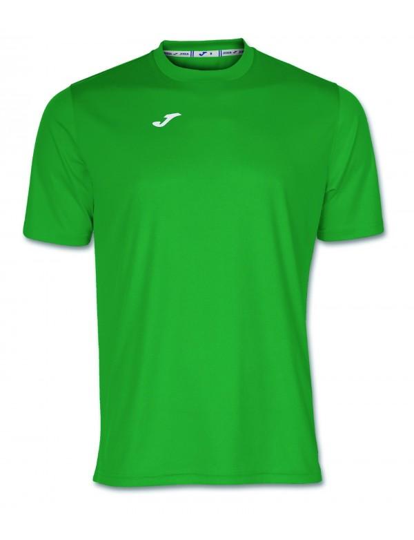 T-SHIRT COMBI GREEN S/S