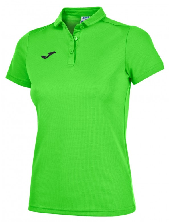 POLO SHIRT GREEN FLUOR S/S