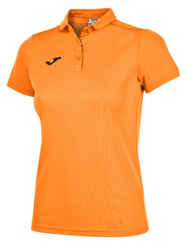 POLO SHIRT ORANGE FLUOR S/S
