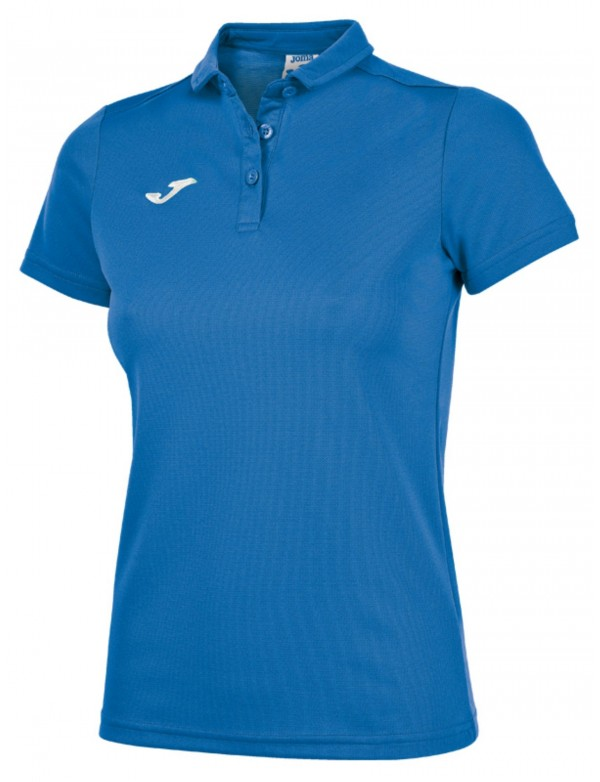 COMBI WOMEN POLO SHIRT ROYAL S/S
