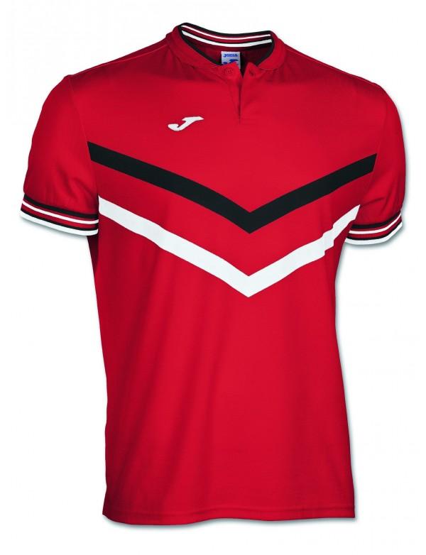 POLO TERRA RED-WHITE S/S