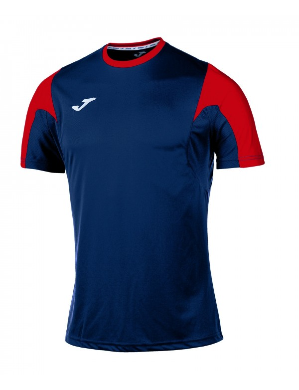 T-SHIRT ESTADIO NAVY-RED S/S
