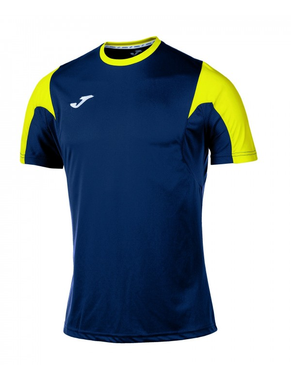 T-SHIRT ESTADIO NAVY-YELLOW S/S