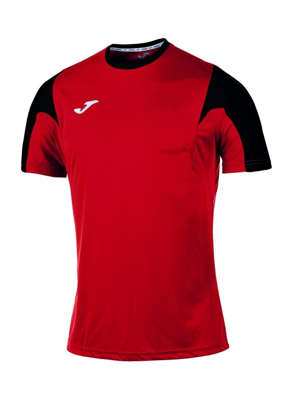 T-SHIRT ESTADIO RED-BLACK S/S