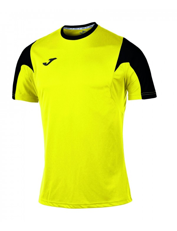 T-SHIRT ESTADIO YELLOW-BLACK S/S