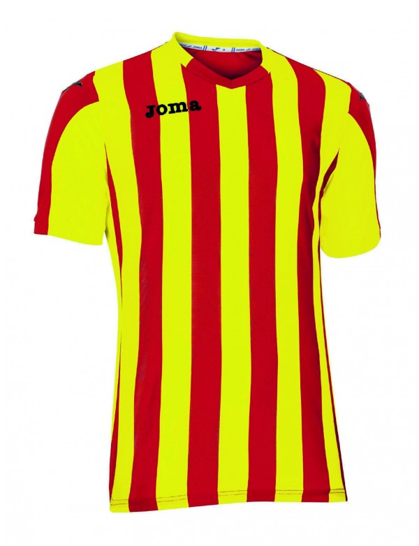 T-SHIRT COPA RED-YELLOW S/S