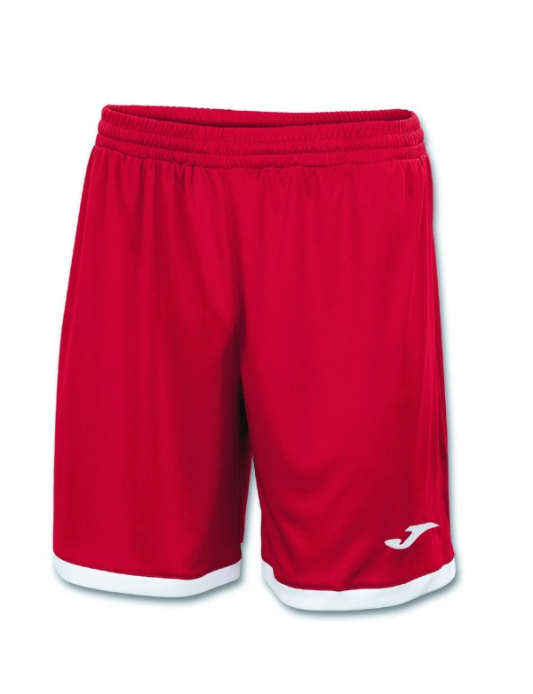 SHORT TOLEDO RED-WHITE