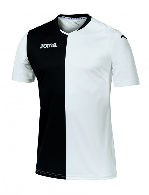T-SHIRT PREMIER WHITE-BLACK S/S