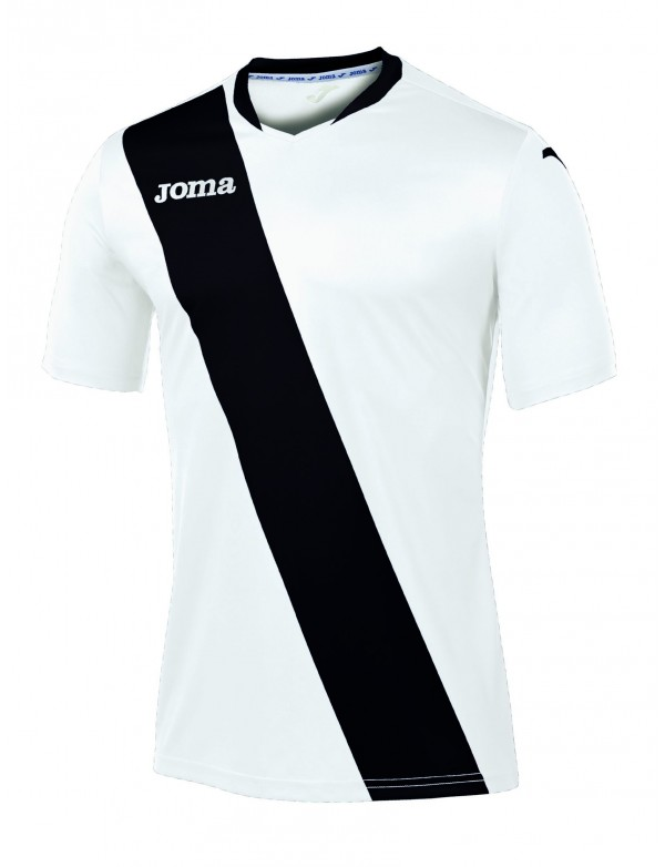 T-SHIRT MONARCAS WHITE-BLACK S/S