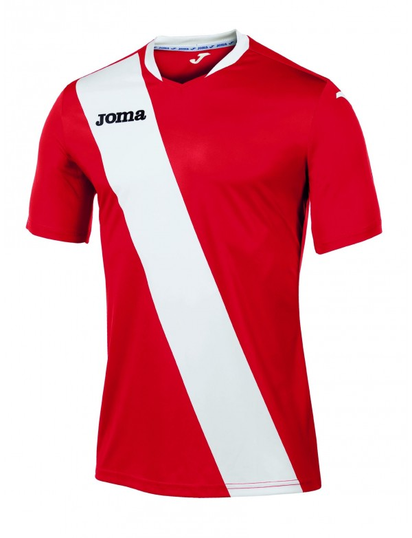 T-SHIRT MONARCAS RED-WHITE S/S