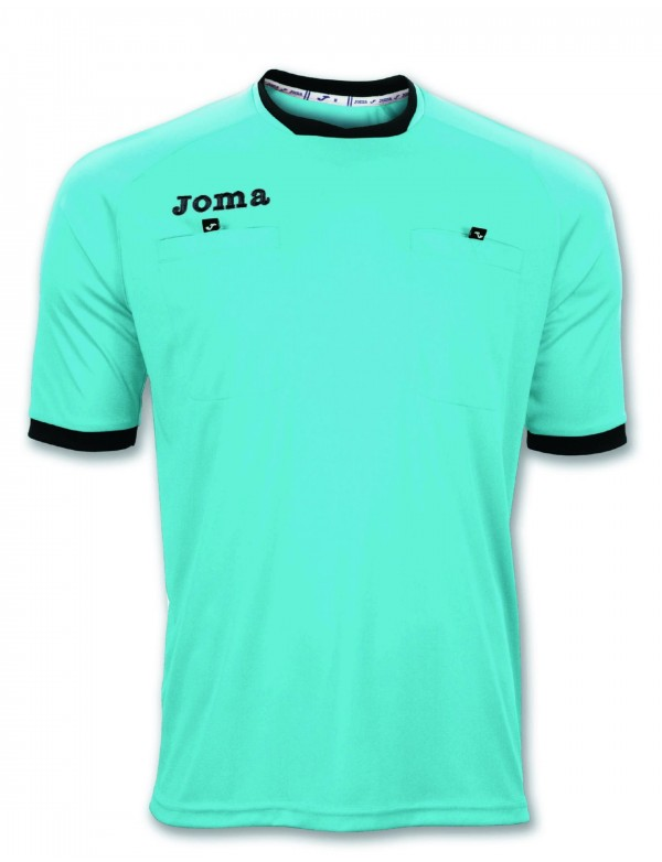 T-SHIRT REFEREE S/S TURQUOISE