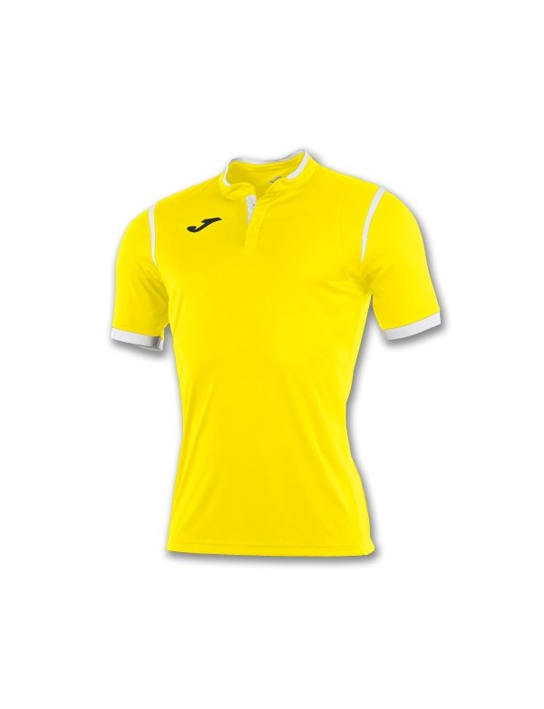 T-SHIRT TOLETUM YELLOW / WHITE