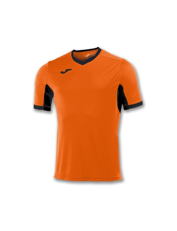 T-SHIRT CHAMPION IV ORANGE / BLACK