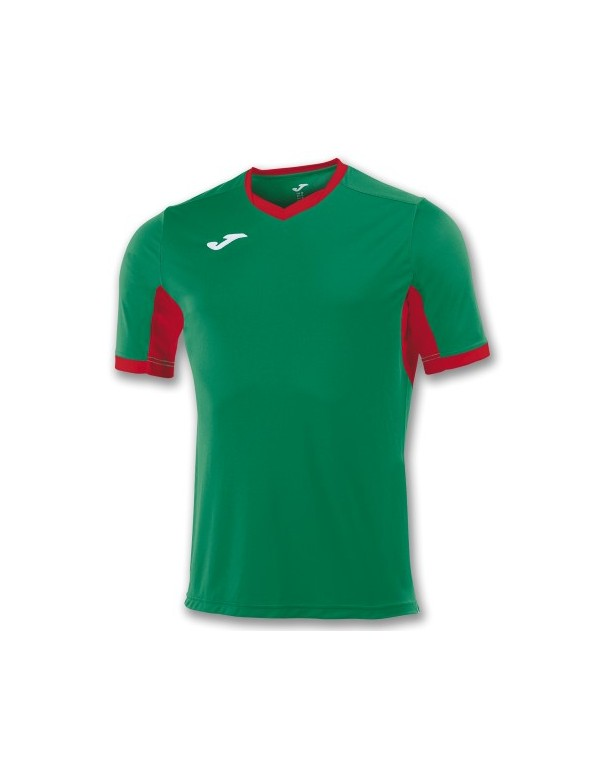 T-SHIRT CHAMPION IV GREEN / RED