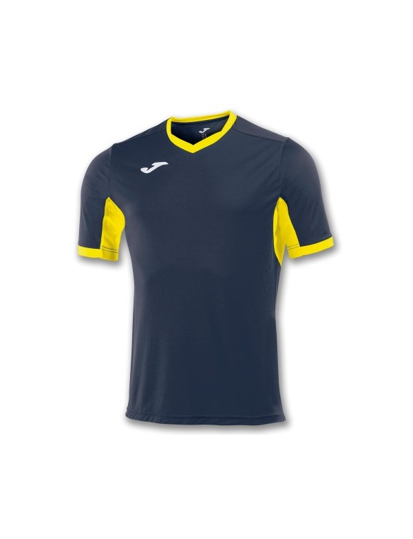 T-SHIRT CHAMPION IV NAVY / YELLOW