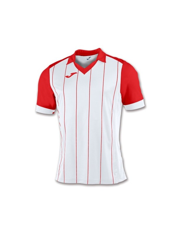 T-SHIRT GRADA WHITE-RED PRO
