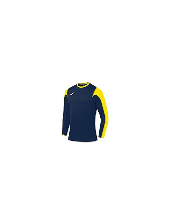 T-SHIRT ESTADIO NAVY-YELLOW L/S