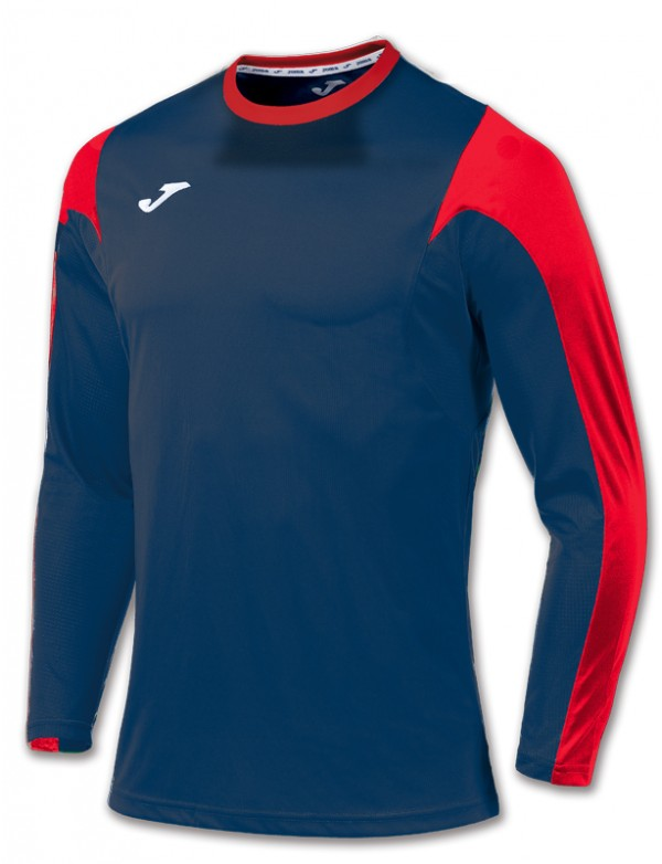 T-SHIRT ESTADIO NAVY-RED L/S