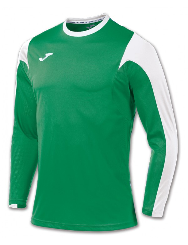 T-SHIRT ESTADIO GREEN-WHITE L/S