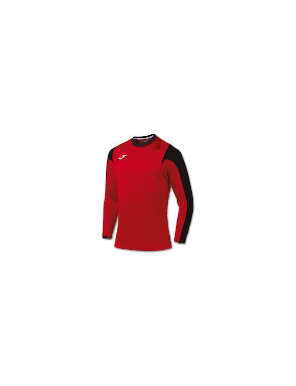 T-SHIRT ESTADIO RED-BLACK L/S