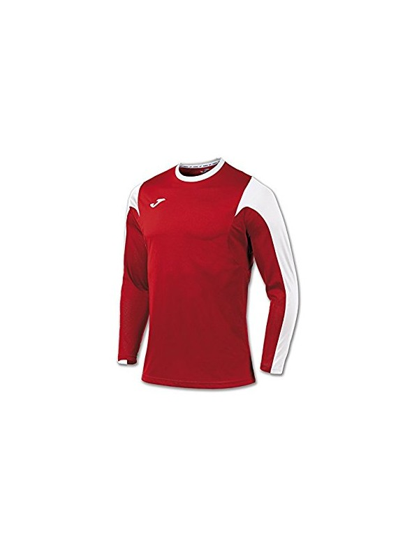 T-SHIRT ESTADIO RED-WHITE L/S