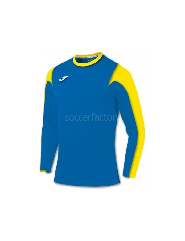 T-SHIRT ESTADIO ROYAL-YELLOW L/S