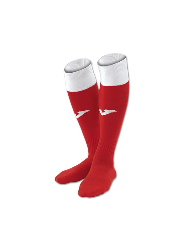 FOOTBALL SOCKS CALCIO 24 RED-WHIT