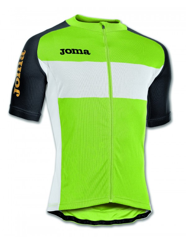 MAILLOT CYCLING GREEN S/S