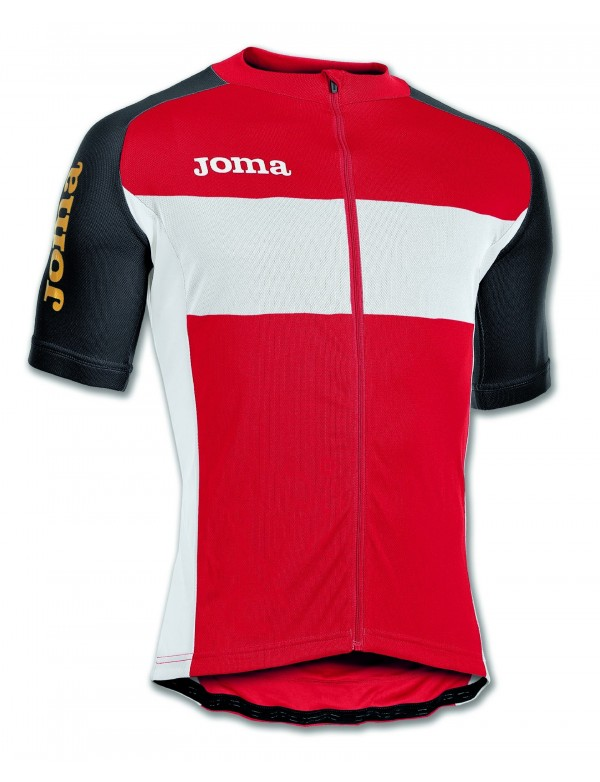 MAILLOT CYCLING RED S/S