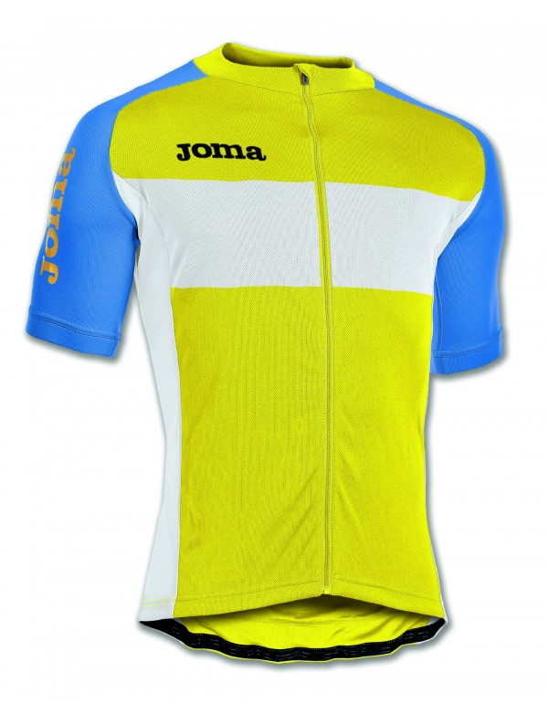 MAILLOT CYCLING YELLOW S/S