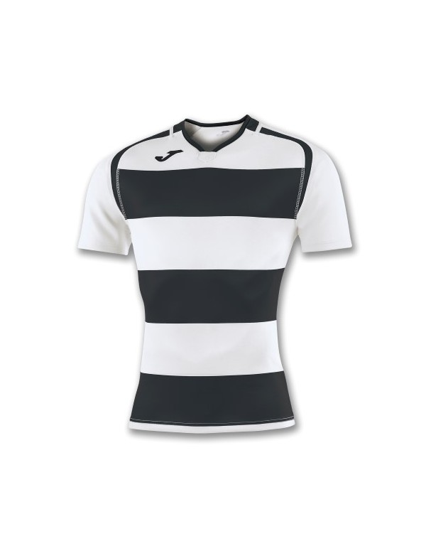 T-SHIRT PRORUGBY II WHITE-BLACK