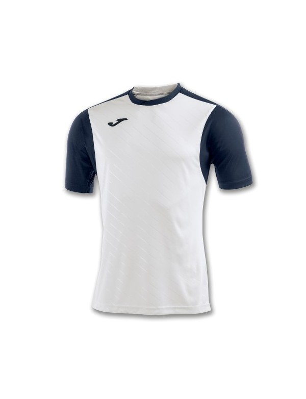 T-SHIRT TORNEO II WHITE-NAVY