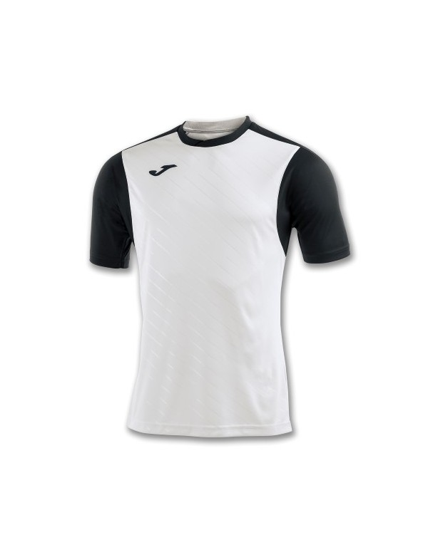 T-SHIRT TORNEO II WHITE-BLACK