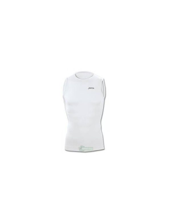 T-SHIRT BRAMA CLASSIC WHITE SLEEVELESS