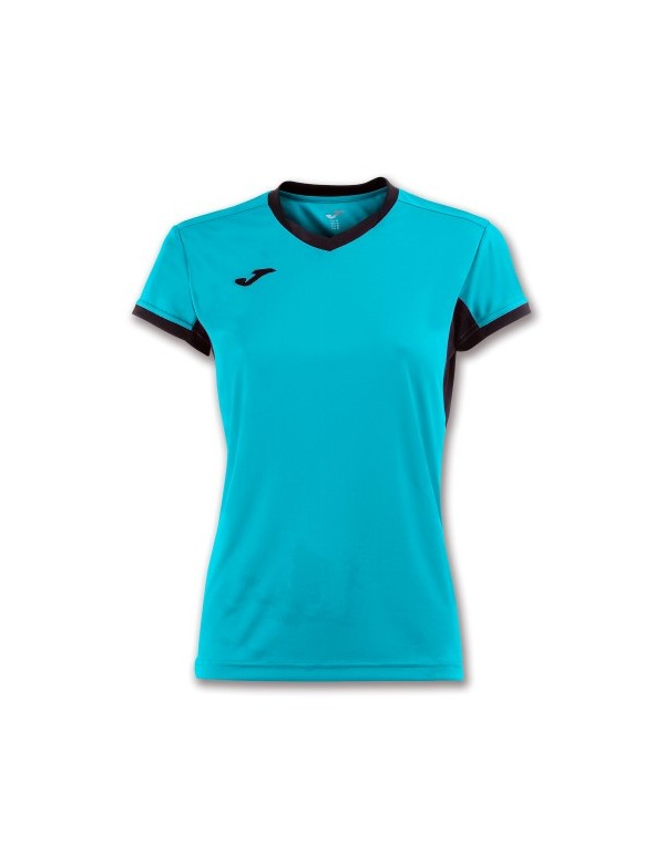 T-SHIRT CHAMPION IV WOMAN TURQUIOISE