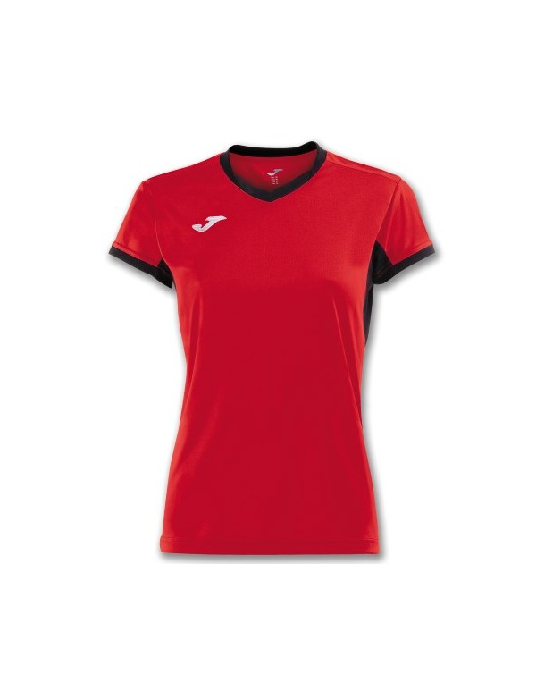 T-SHIRT CHAMPION IV WOMAN RED