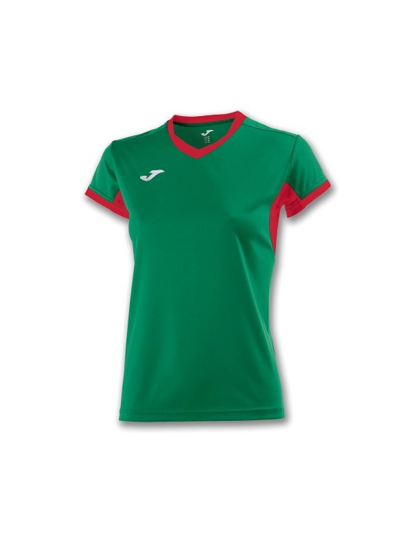 T-SHIRT CHAMPION IV WOMAN GREEN MEDIUM