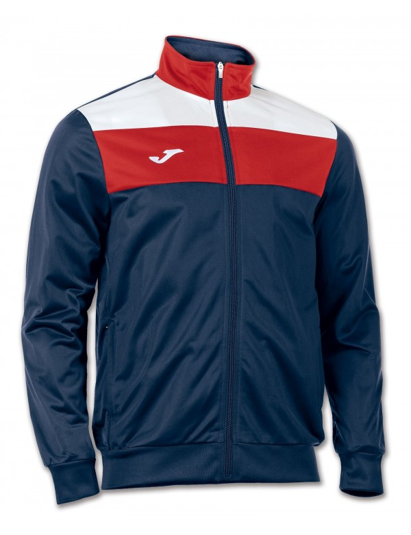 JACKET CREW NAVY-RED